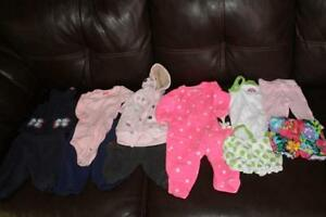 girls carters clothes 3-6 months