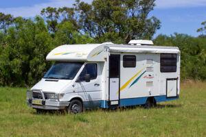 Sunliner Motorhome - EuroSport #8244 Bennetts Green Lake Macquarie Area Preview
