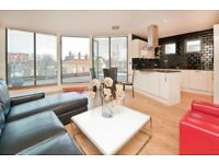 STYLISH 3 BEDROOM, 2 BATH PENTHOUSE W/ SOUTH FACING ROOF TERRACE MOMENTS FROM PARLIAMENT HILL FIELDS