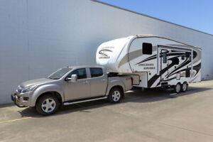 Crossroads 5th Wheeler - Kuranda Packaged with a 2015 Isuzu D-Max 4x4 #8288 Bennetts Green Lake Macquarie Area Preview