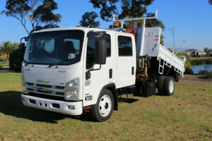 Isuzu NQR 450 Crew Cab Tipper With Crane **LOW KMS** Waterloo Corner Playford Area Preview