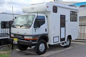 4x4 Mitsubishi Canter Gadabout Camper #6135 Windale Lake Macquarie Area Preview