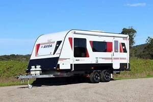 Avida Caravan - Emerald Multi-Terrain CV5934QB #6182 Windale Lake Macquarie Area Preview