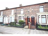 NO AGENTS FEES *Beautiful* unfurnished 3 bed house to rent in Queen's Road Liverpool L20 7BN