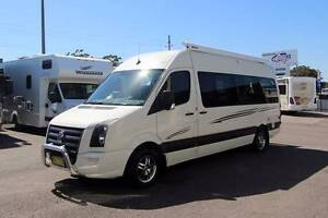 Talvor VW Crafter Campervan #6345 Windale Lake Macquarie Area Preview