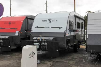 Royal Flair Caravan - Razor XT (Bunks) #6956 Windale Lake Macquarie Area Preview
