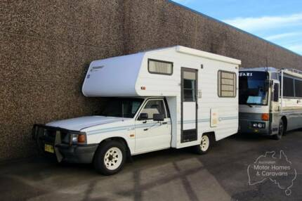 Ford Courier Suncamper RV #6642