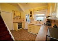 Second hand kitchen, cottage yellow with double oven