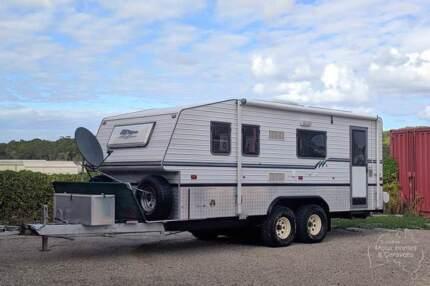 Bushtracker 19 Caravan #6948 Windale Lake Macquarie Area Preview