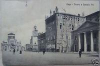 Emilia_carpi_teatro E Castello Pio_animata Antica Veduta D'epoca_da Collezione -  - ebay.it