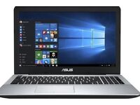 ASUS X555LA 15.6-Inch Laptop Notebook Black used laptop fully working Only defectspace bar missing