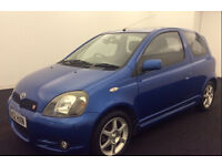 Toyota Yaris T Sport 1.5 2002, 58k, Long Mot, 2 Keys, Low Mileage, Rare Blue & HPI Clear £1895