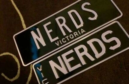 Personalised Victorian! Number Plates, Euro, Nerds, and Krude! Melbourne CBD Melbourne City Preview