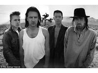 """LIVE BAND. """"A SORT OF U2"""""""