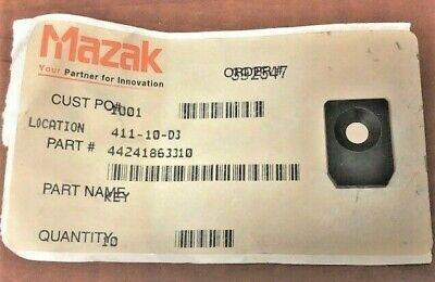 New Mazak Key For Mazak Vqc 1540 Vmc - Part 44241863310 - 4749