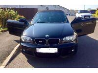 Black BMW M Power convertible 2010 model