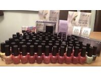 Opi nail polish/salon job lot brand new!!!nail technician beauty acrylics