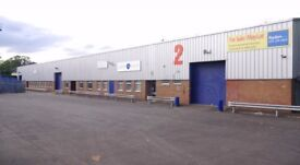 To Let For Rent. 3 industrial warehouse units can be Let separately. 7000sq ft - 21000 sq ft