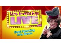 Pair 2 Tickets Mrs Browns Boys Live - Good Mourning Mrs Brown Glasgow The Hydro 1st April