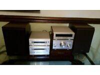 Technics stereo system sl-hd501