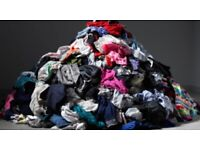 50 kilos of woman's clothing