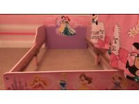 Disney princess toddler bed