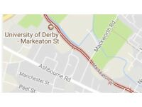 ATTENTION STUDENTS / PROFESSIONALS 5 BEDROOM PROPERTY TO RENT MARKEATON STREET CAMPUS UNI OF DERBY