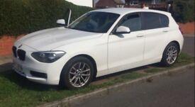 BMW 1 SERIES 1.6 116d 63plate 5dr Warranty until Oct 2018!