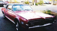 Classic 1968 Mercury Cougar for sale by owner