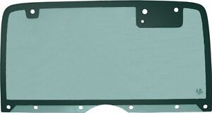 1987-1995 Jeep Wrangler Hard Top Tailgate Liftgate Rear Clear Glass