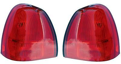Fits 03 - 11 Lincoln Town Car Taillight Pair Set Both Taillamp Towncar NEW