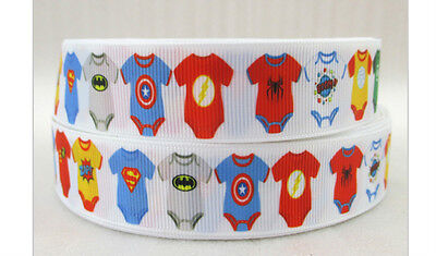 Baby Batman Ribbon Wonder Woman Green Lantern Flash Superman Captain America ()