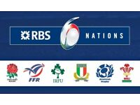 5 Rugby Tickets for France v England Six Nations 2018 in State de France, Paris