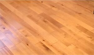 New Birch (merisier) Tongue and groove flooring