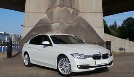 FEATURED 3 Series 320d BMW, White, FSH, MOT, Professional Media, Full leather, 2 keepers. TAX = £30