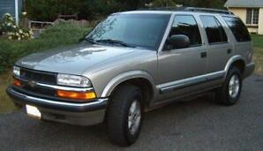 2000 Chevrolet Blazer 4X4 SUV Low Kms One Family Owned Since New