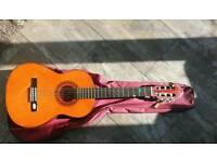 Acoustic Guitar for Sale + Learning Books - Perfect for kids