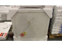 BRAND NEW PEARLSTONE STONE RESIN 900 X 900MM SQUARE SHOWER TRAY £45