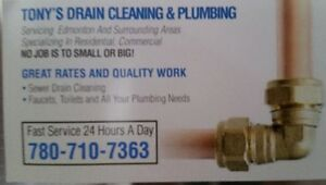 Tony's plumbing & drain cleaning