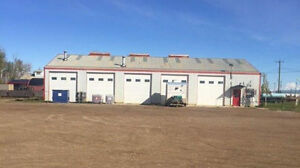 Industrial Shop in High Level, Alberta - FOR LEASE