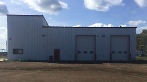 High Level - Two Bay Industrial Shop with 1.5 acres of Land