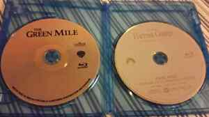 2 Tom Hanks Blu Rays (Forrest Gump & The Green Mile) St. John's Newfoundland image 1