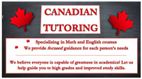 Exams are upon us! Math and English tutors available for you!