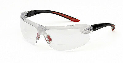 Bolle IRI-S - Safety Glasses - Clear Lens With Dioptric Reading (Safety Glasses With Reading Lens)