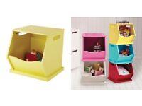 GLTC yellow toy stacking box