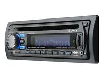 Sony Xplod CDX-GT50UI Car CD MP3 USB Aux-In iPod Player Stereo