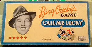 "Bing Crosby's ""Call Me Lucky"" game, 1954 Parker Brothers"
