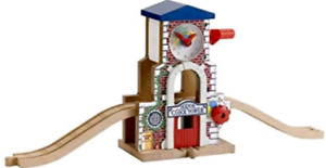 ISO thomas the train wooden railway sodor clock tower