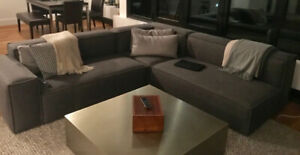sectional couch / divan sectionnel