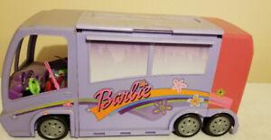 BARBIE GLAM TOUR BUS, + MAKEUP COUNTER